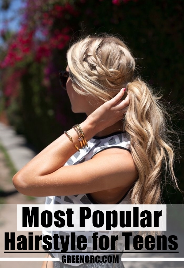 Most Popular Hairstyle for Teens (4)