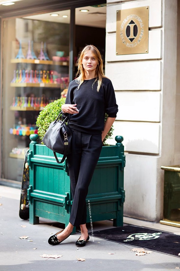 All Black Outfits Ideas for Teens (18)