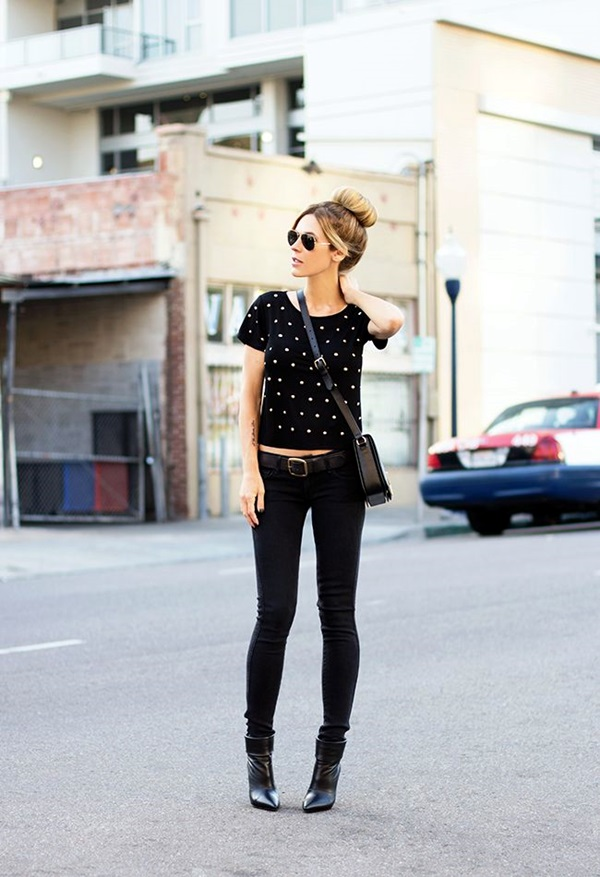 All Black Outfits Ideas for Teens (26)
