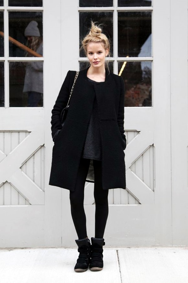 All Black Outfits Ideas for Teens (30)