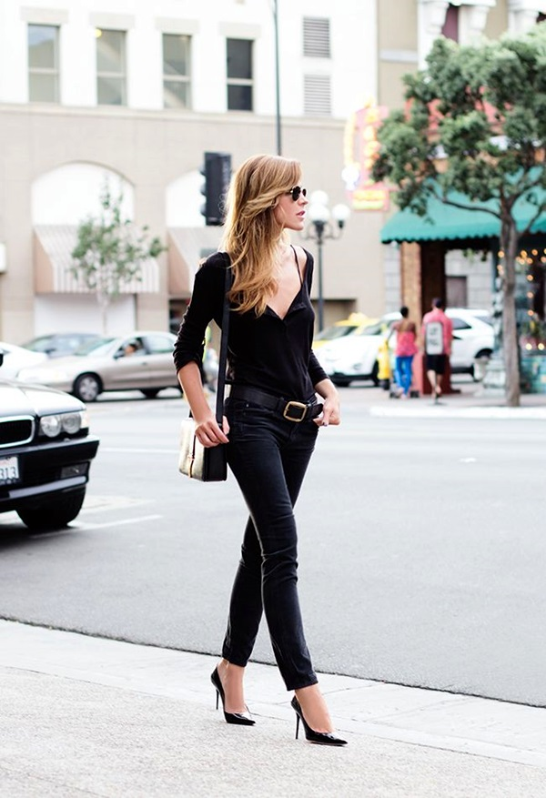 All Black Outfits Ideas for Teens (36)