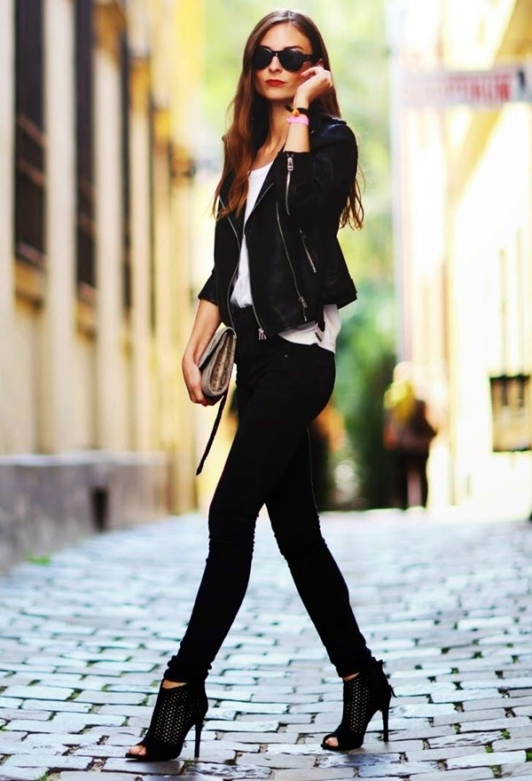 All Black Outfits Ideas for Teens (41)