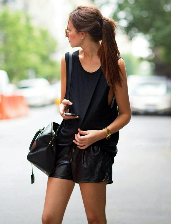 All Black Outfits Ideas for Teens (45)