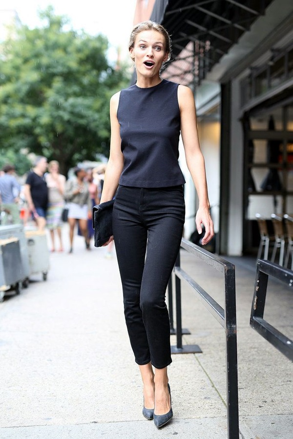 All Black Outfits Ideas for Teens (51)