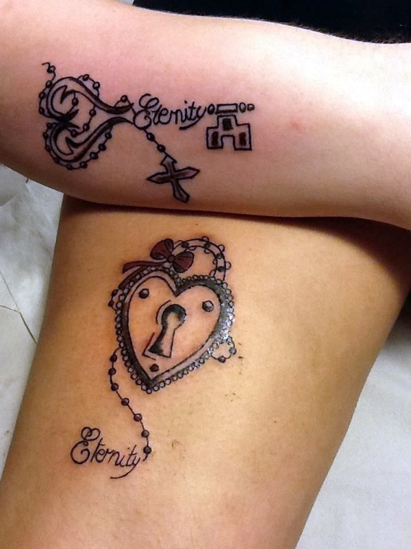 Key Tattoos for Girls (3)