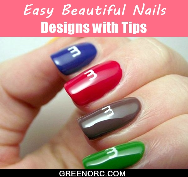 Easy Beautiful Nails Designs (1)