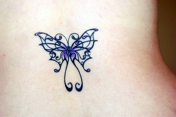 Butterfly Tattoos Designs for Girls (1)