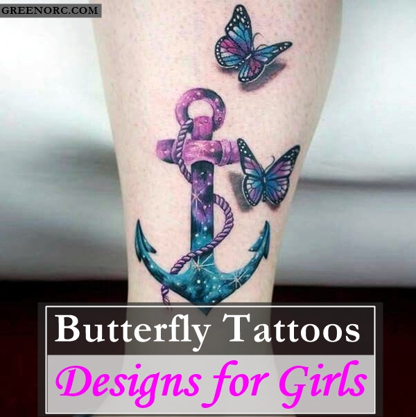 Butterfly Tattoos Designs for Girls (17)
