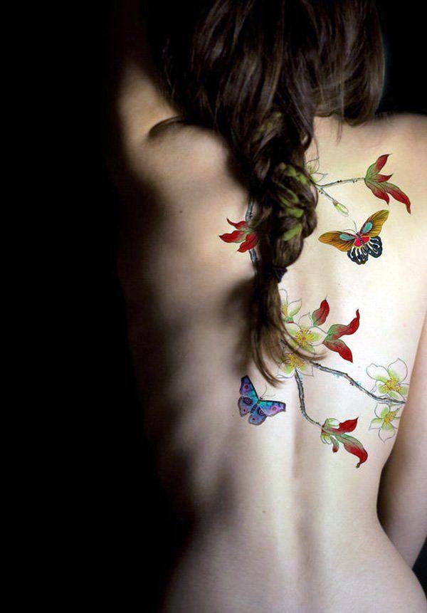 Butterfly Tattoos Designs for Girls (2)