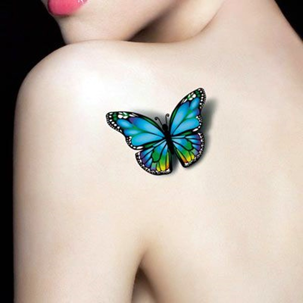 Butterfly Tattoos Designs for Girls (7)