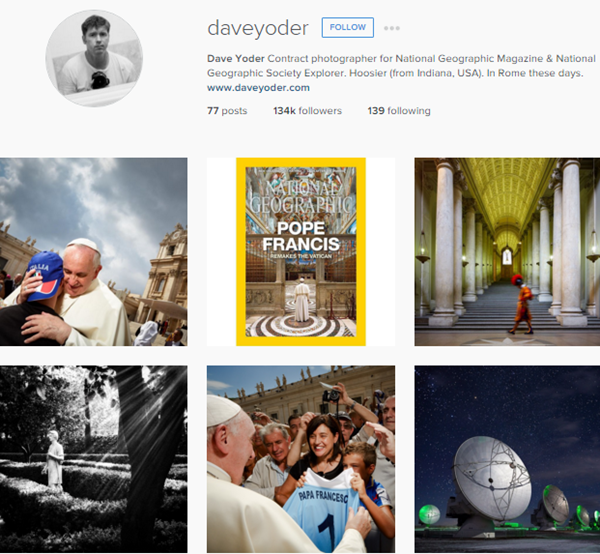 Instagram Photographers Account That You Must Follow (1)