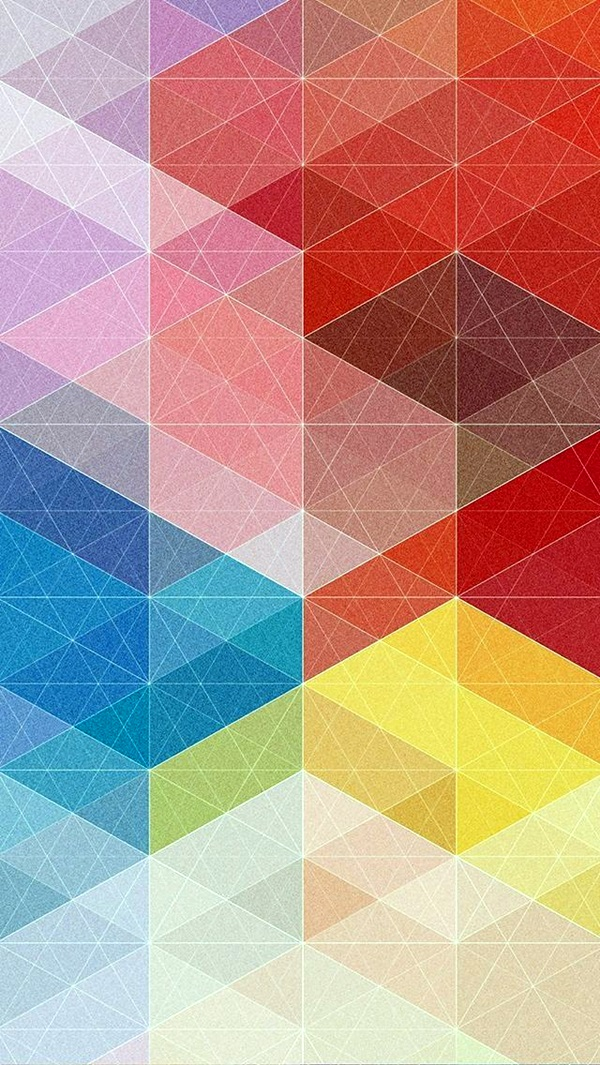 Geometric iPhone Wallpapers (1)