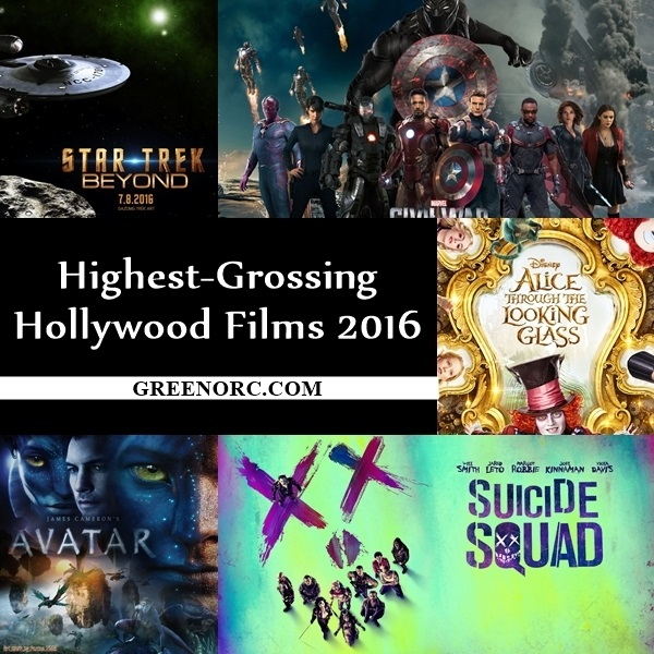 Highest-Grossing Hollywood Films 2016 (2)