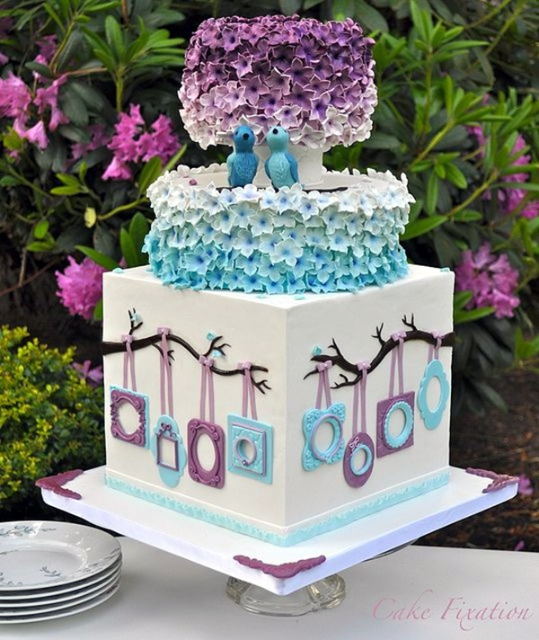 Wedding Anniversary Cake Ideas (13)