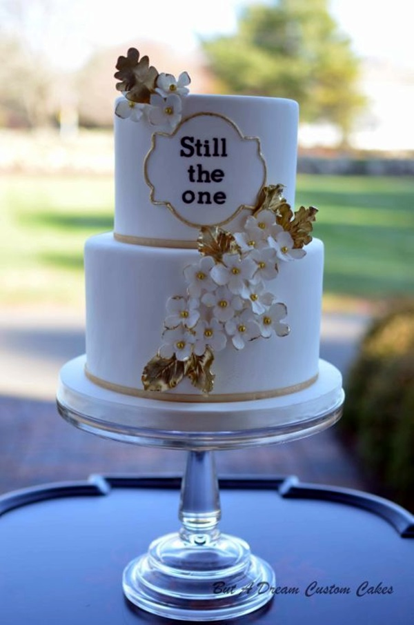 Wedding Anniversary Cake Ideas (34)