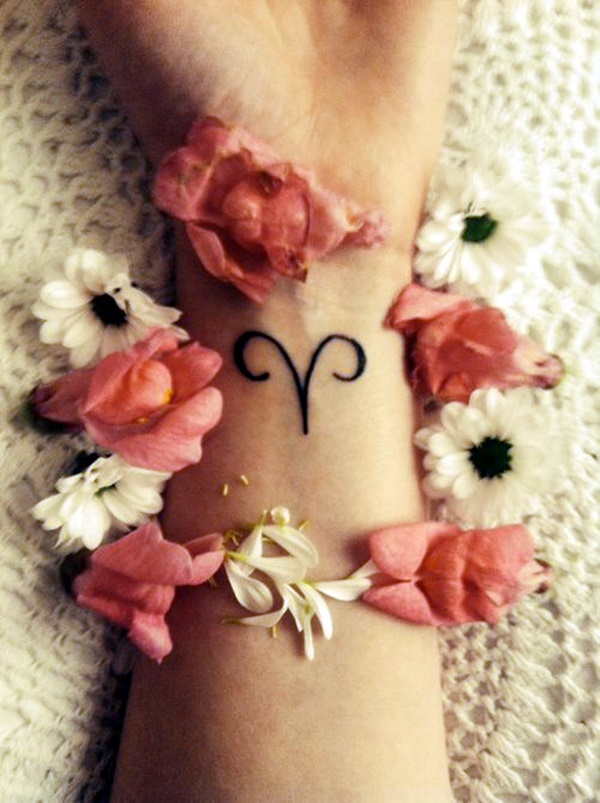Zodiac Sign Tattoo Designs with Meanings