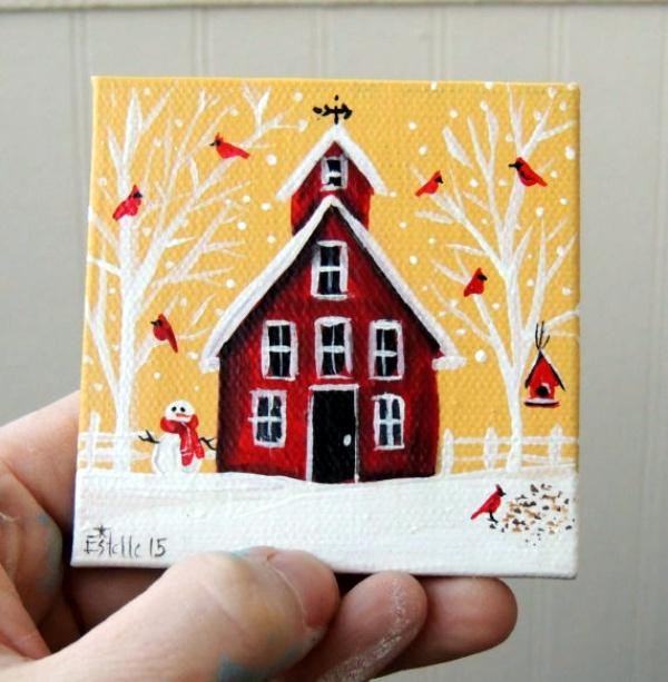Artistic Miniature Painting Ideas