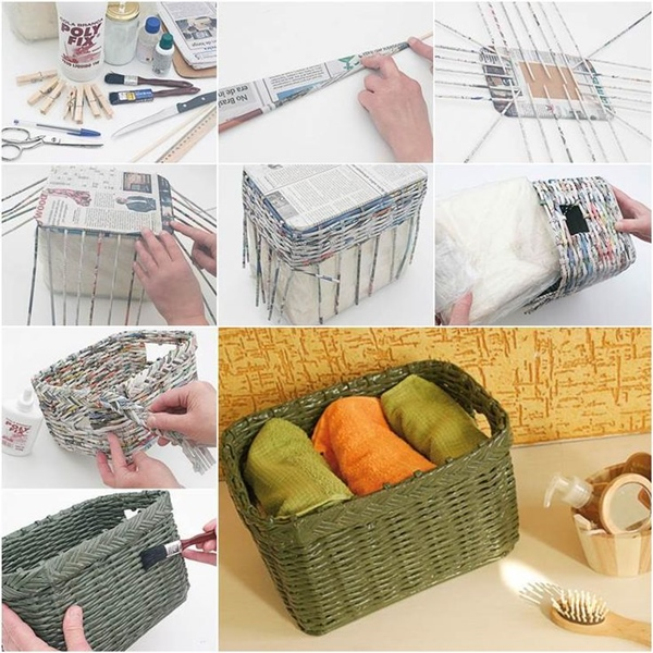 Astonishing-Newspaper-Craft-Ideas