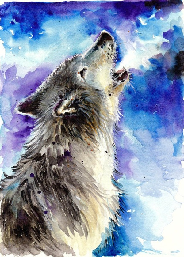 Adorable-Animal-Watercolor-Paintings