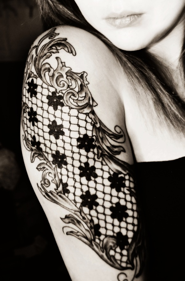 Cute-Sleeve-Tattoos-For-Girls