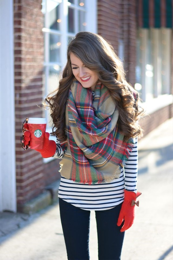 Ways to Wear A Scarf This Winter