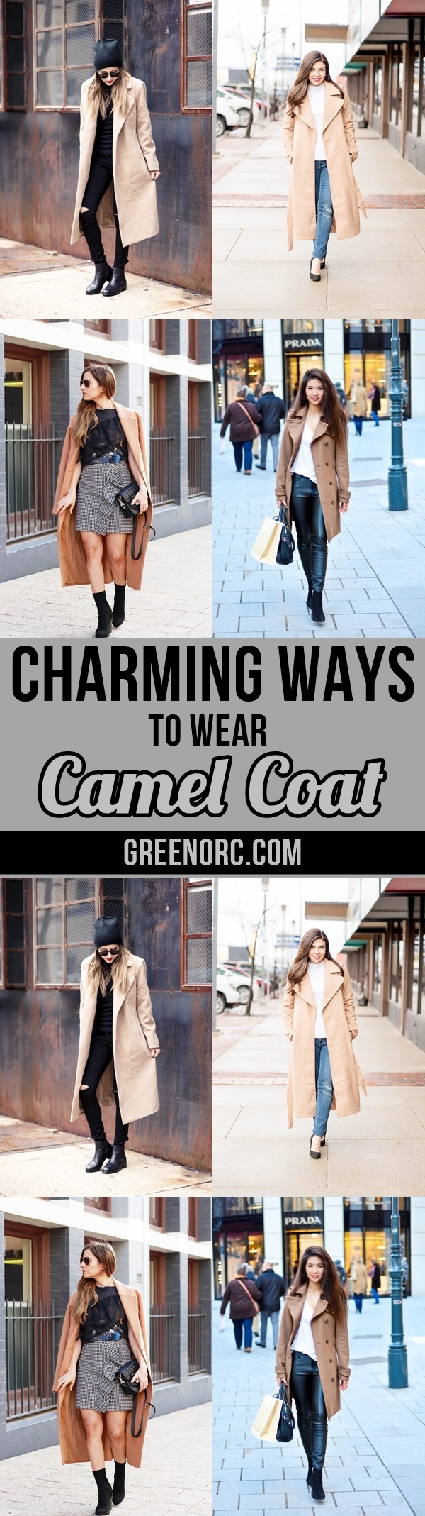Charming Ways to wear Camel Coat