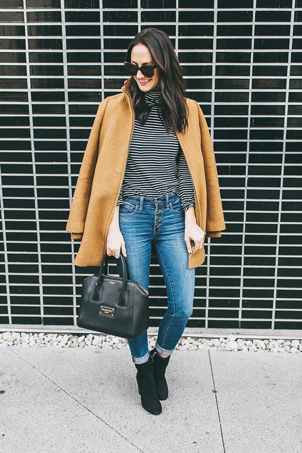 Charming Ways to wear Camel Coat this Fall / Winter