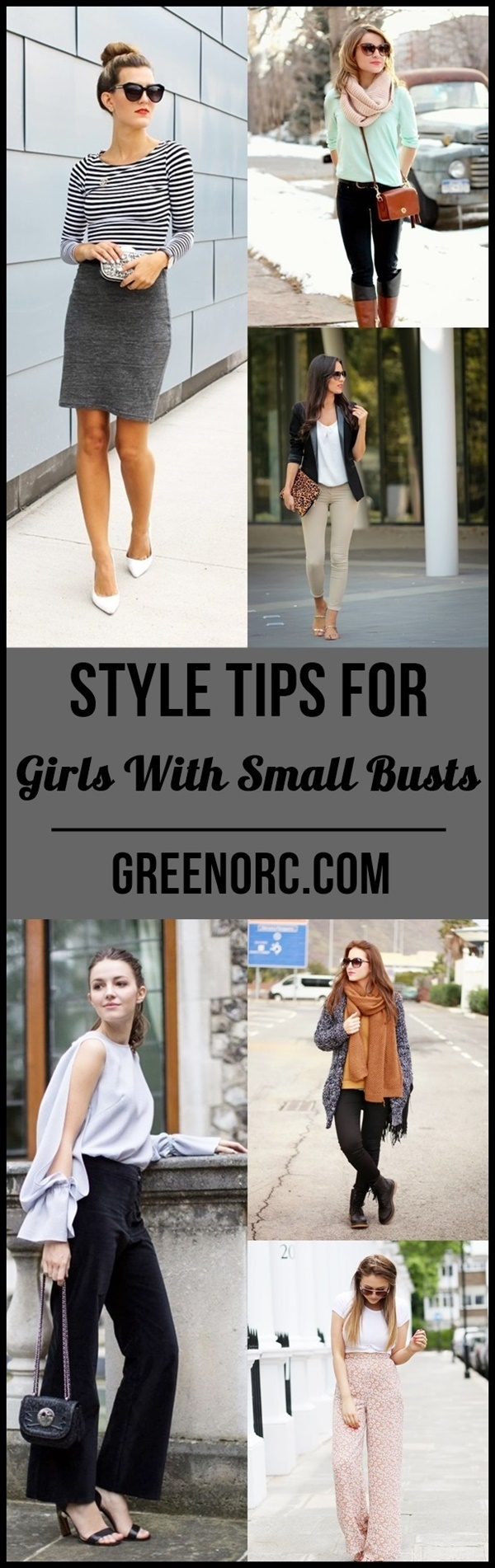Style Tips For Girls With Small Busts