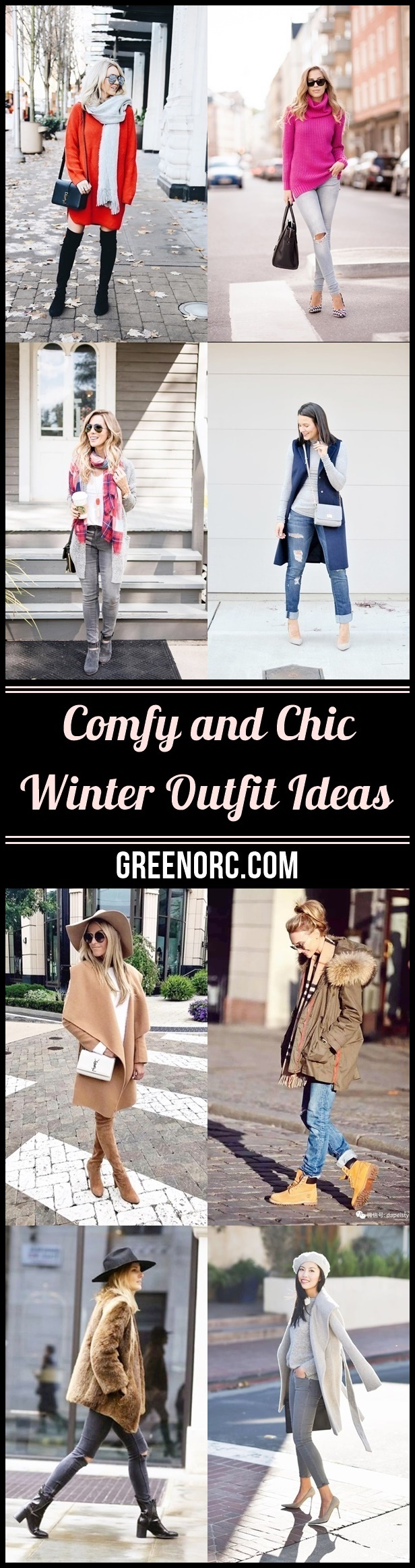Comfy and Chic Winter Outfit Ideas