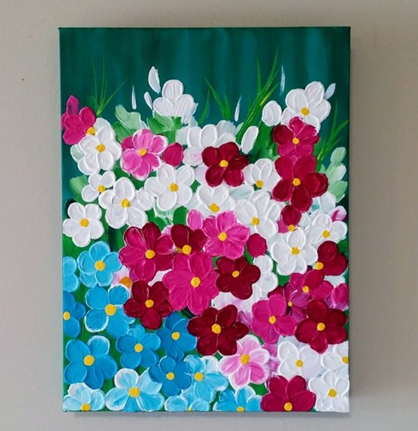 40 Easy Acrylic Canvas Painting Ideas To Try Greenorc