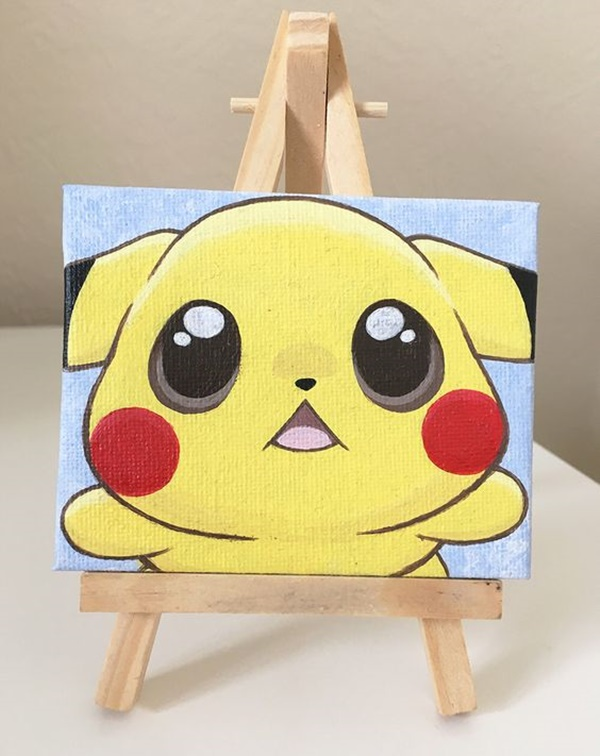 Beginner Simple Cute Paintings