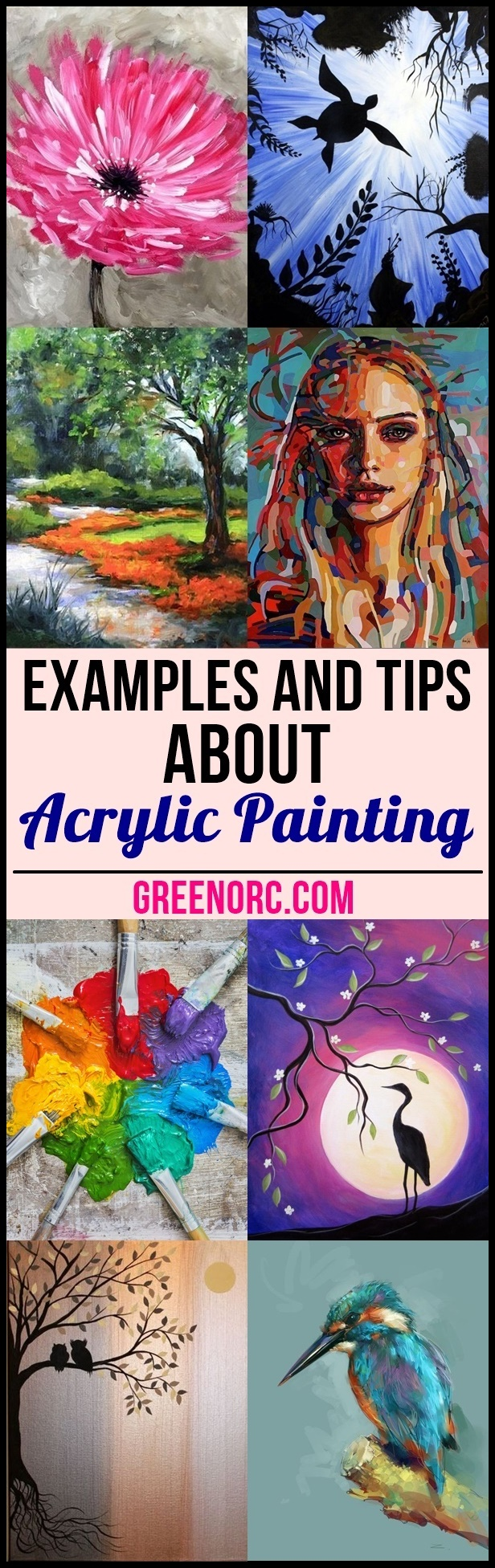 Examples and Tips About Acrylic Painting