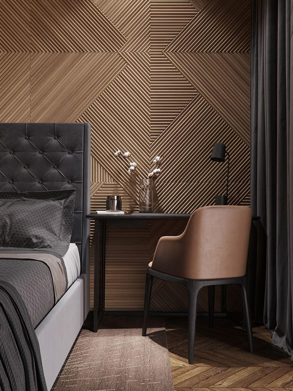 Earthy Modern Interior Design for Living Room
