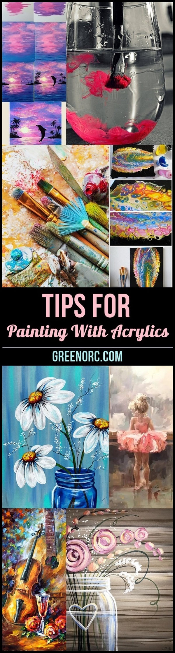 Tips For Painting With Acrylics