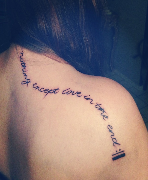 Song Lyric Tattoos That Will Inspire Your Music-Loving Soul