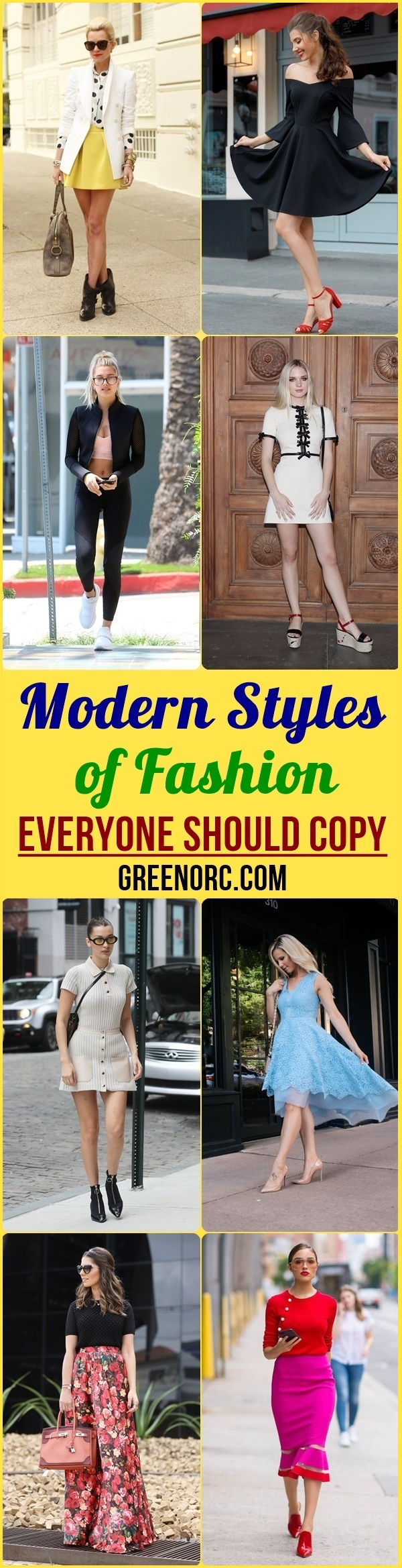 Modern Styles of Fashion Everyone Should Copy