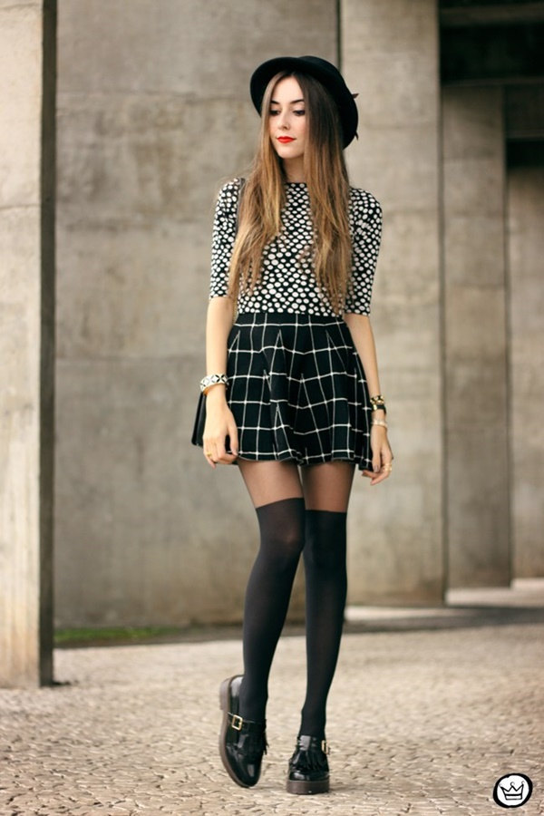 Plaid Skirt Outfit Ideas To Copy Right Now